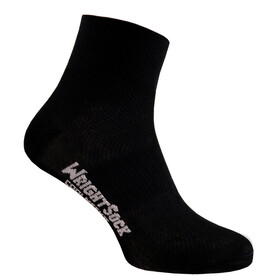 Wrightsock Coolmesh II sukat Quarter Socks , musta